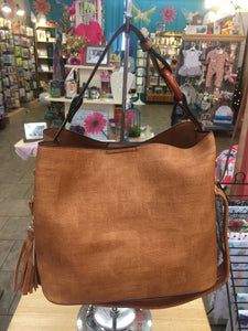Brown 2 in 1 Handbag #ET5213