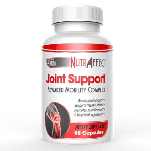 Nutraffect Joint Support Supplement with Glucosamine Chondroitin, Turmeric, Boswellia & MSM - 90 Capsules