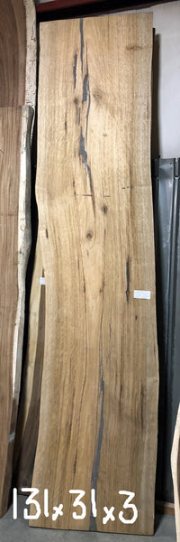 Sustainably harvested and kiln dried Natural Live Edge jumbo large wide Wood Slab kitchen island top or countertop or bar top at Impact Imports of Boise Idaho.