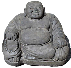 Large Seated Happy Buddha - Impact Imports