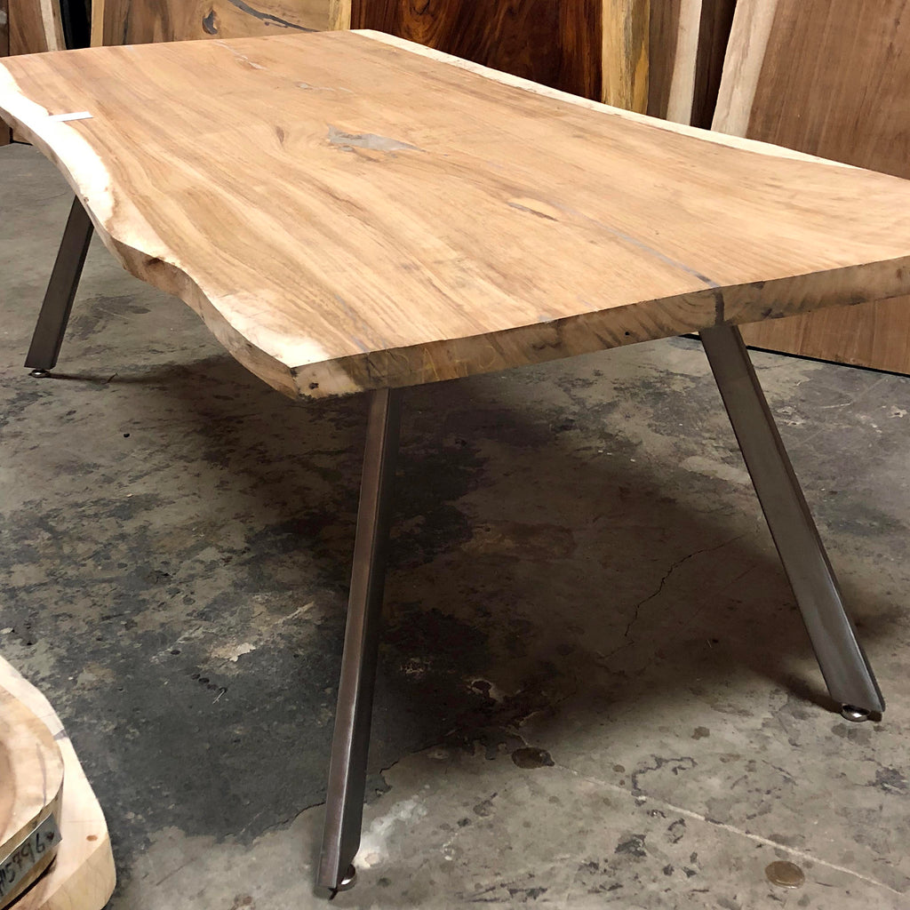 Steel Table Legs Mid Century Modern Style Tapered Impact Imports