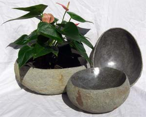 River Rock Bowls, Small - Impact Imports