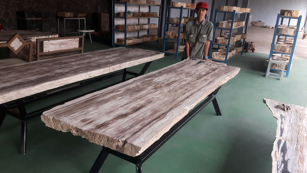 Petrified Wood Slabs - Custom Order - Impact Imports