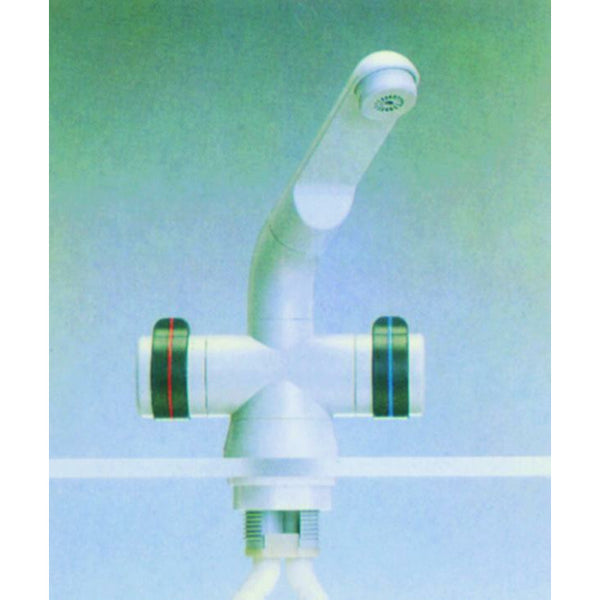 Talamex Mixer Tap White 1-Hole 17483029