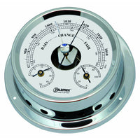 Talamex Baro/Thermo/Hygrometer Chromed Brass 125/100MM 21421144