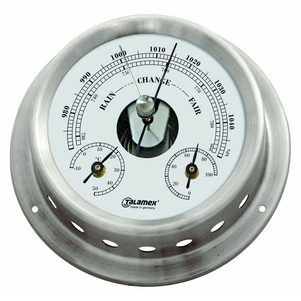 Talamex Baro/Thermo/Hygrometer Stainless Steel 125/100MM 21421148