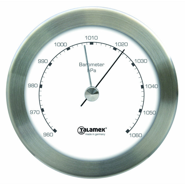 Talamex Barometer Stainless Steel 100MM 21421196