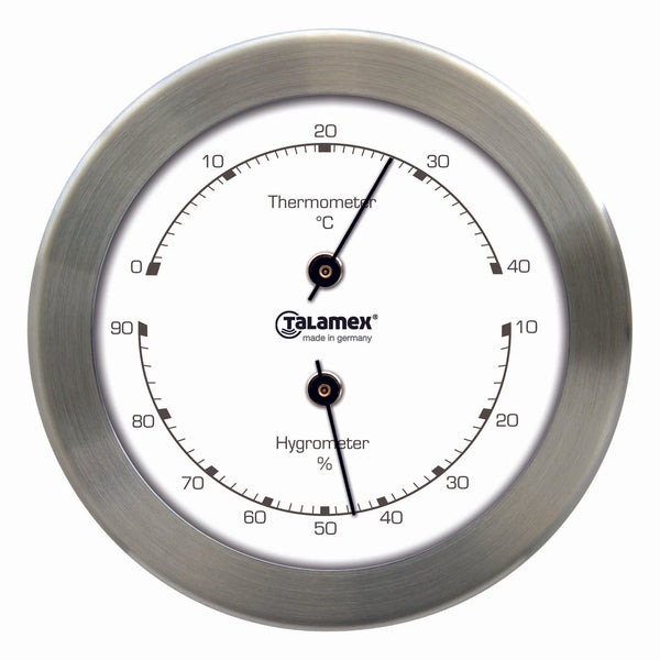 Talamex Thermo-Hygro Rvs 100MM 21421197