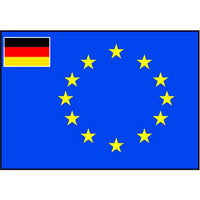 Talamex Europ Flag Germany 100X150 27332300