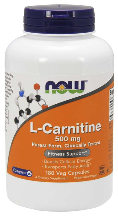 Now Carnitine 500mg
