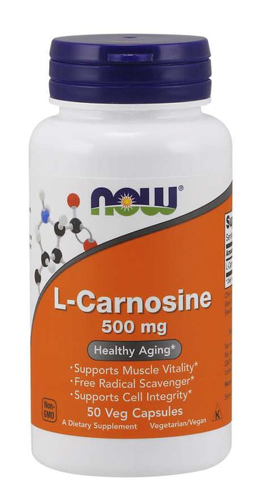 Now Carnosine 500mg