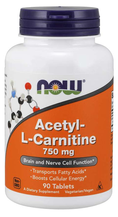 Now Acetyl L-Carnitine 750mg