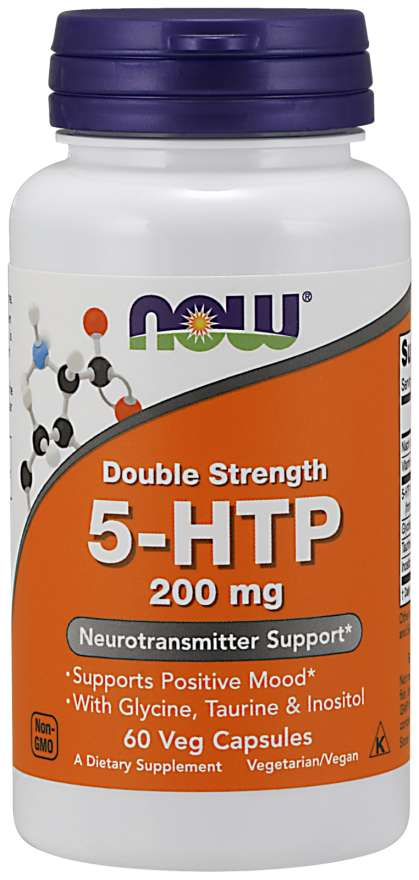 Now 5 HTP 200mg Double Strength