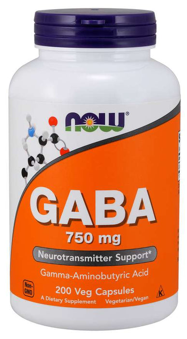 Now Gaba 750mg