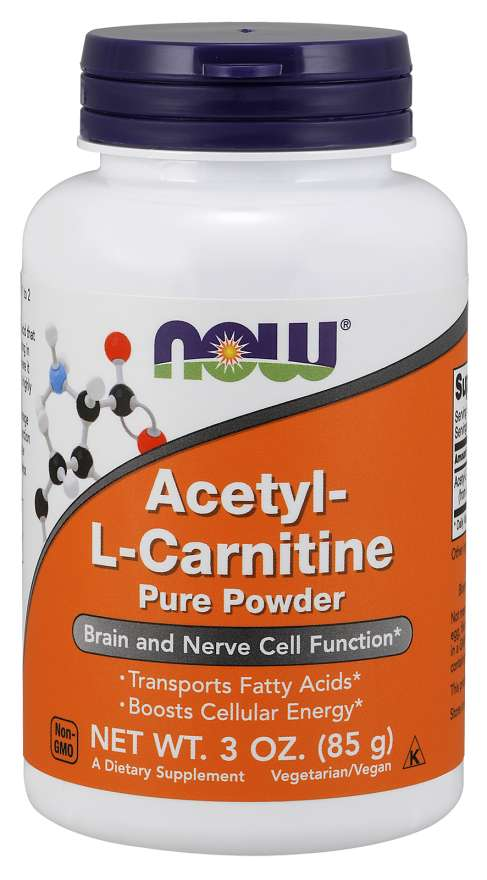 Now Acetyl L-Carnitine Pure Powder