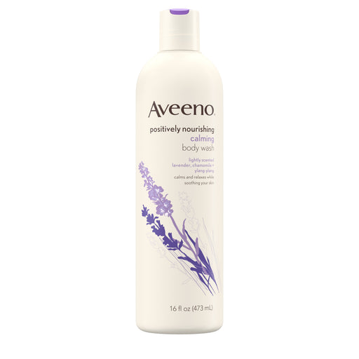 Aveeno Positively Nourishing Calming Lavender Body Wash, 16 fl. oz
