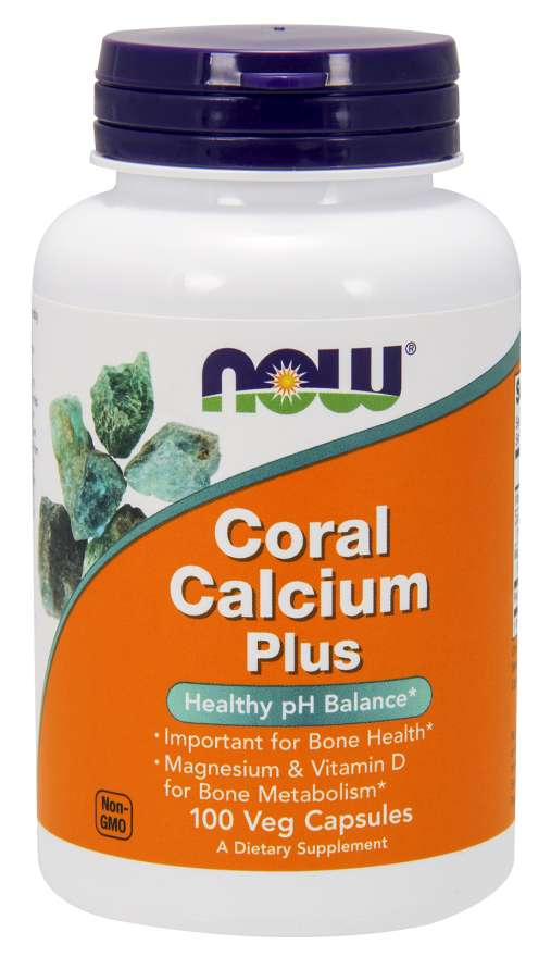 Now Coral Calcium Plus Mag, D