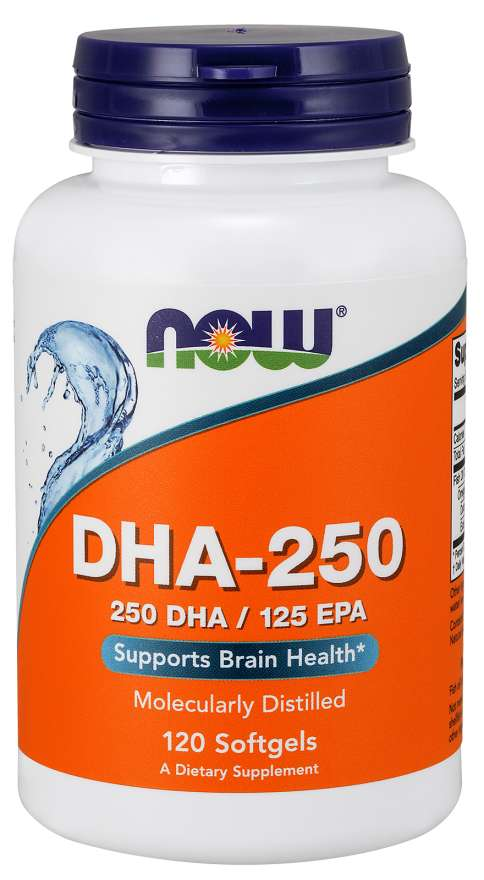 Now Dha- 250mg