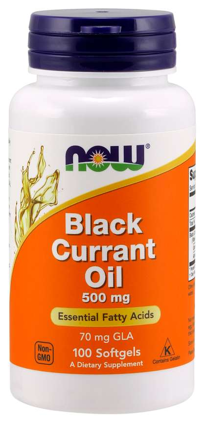 Now Black Currant Oil 500mg