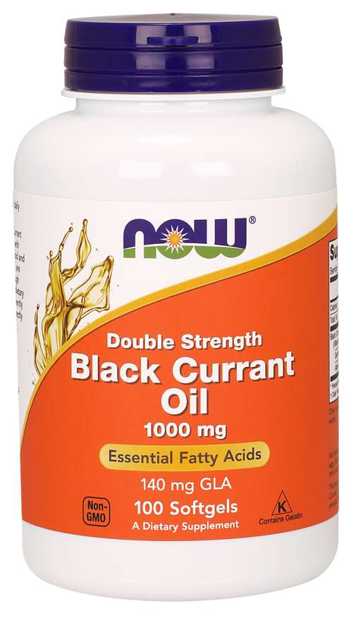 Now Black Currant Oil 1,000mg