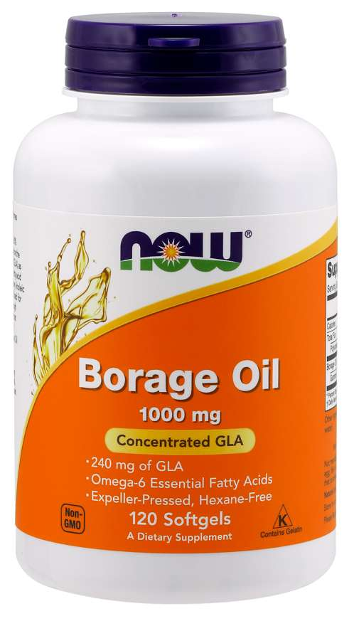 Now Borage Oil 1000 mg