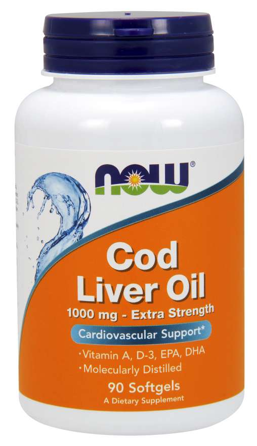 Now Cod Liver Oil 1,000mg
