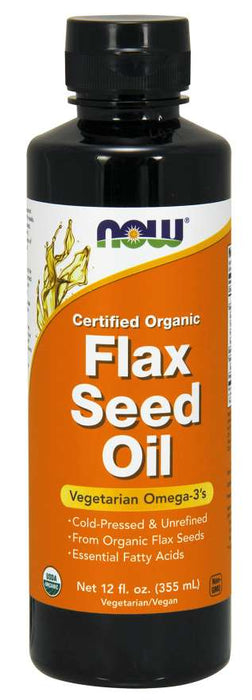 Now Flax Seed Oil Organic