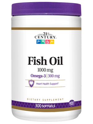 21St Century Fish Oil 1000mg