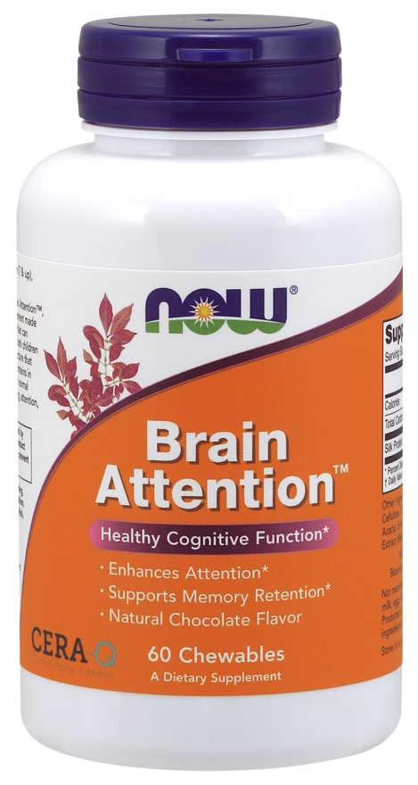 Now Brain Attention Cera-Q Chocolate Flavor