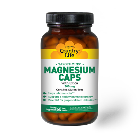 Country Life Magnesium with Silica 300 mg