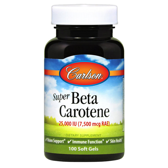 Carlson Super Betacarotene 15Mg Softgels