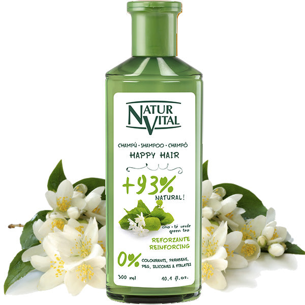 Naturvital-Normal Shampoo – Green Tea
