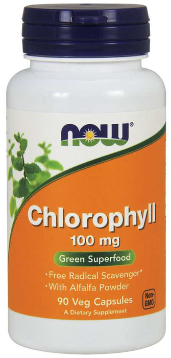 Now Chlorophyll 100mg