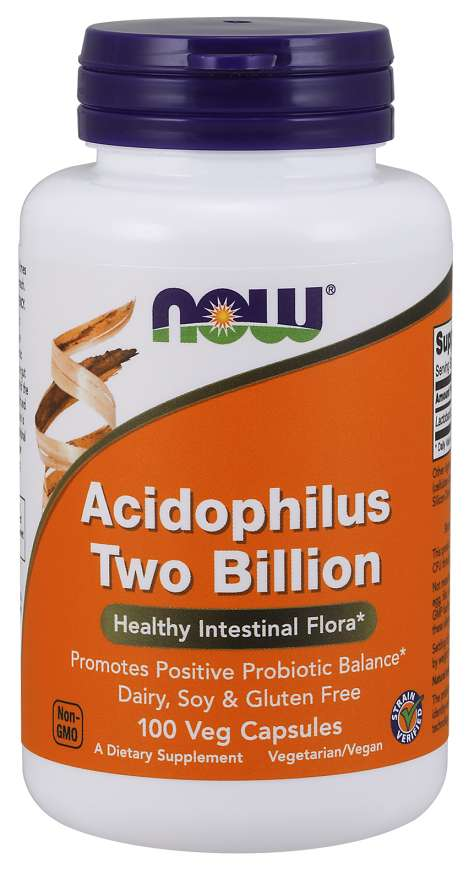 Now Acidophilus 2 Billion