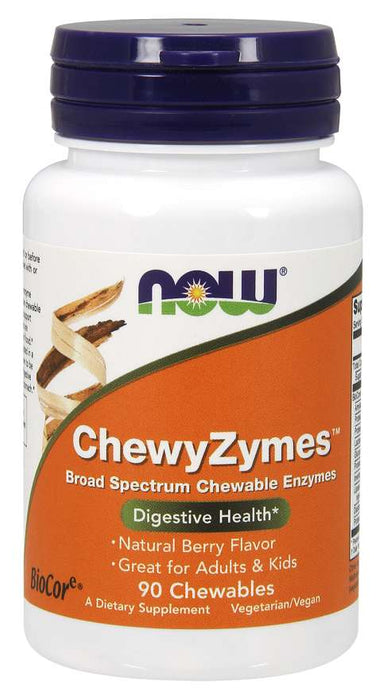 Now Chewyzymes 90 Chewables