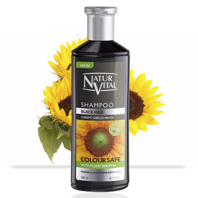 Naturvital-Henna Shampoo For Black Coloured Hair