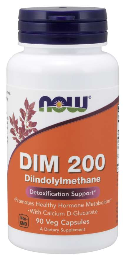 Now Dim 200 W/ Calcium D-Glucarate
