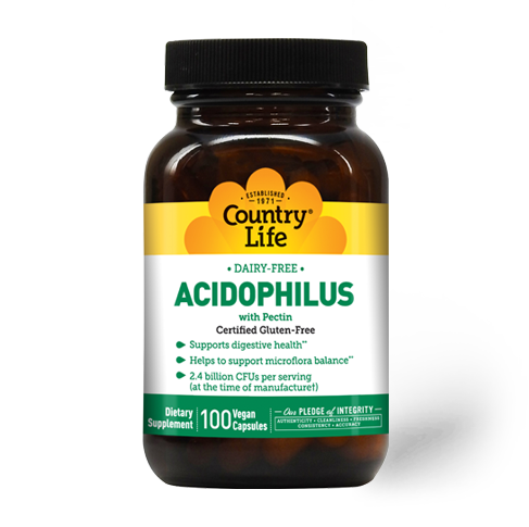 Country Life Acidophilus With Pectin