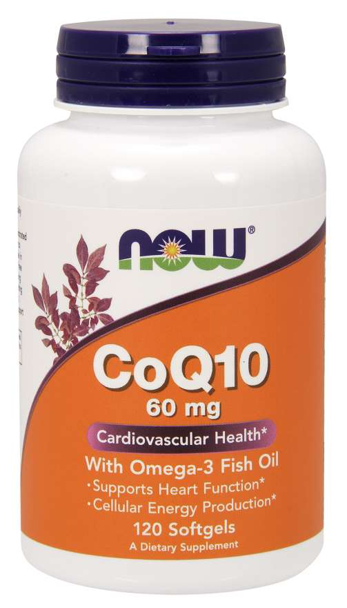 Now Coq10 60mg With Omega-3