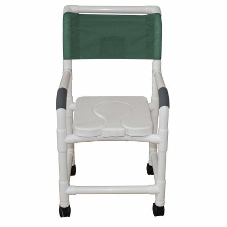 MJM Shower Chair PVC 18 in.