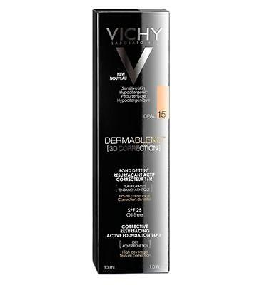 Vichy Dermafinish Corrective Fluid Foundation Opal 15