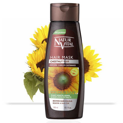 Naturvital-Coloursafe Chestnut Hair Mask