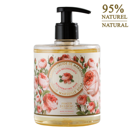 Panier Des Senses Rose Liquid Marseille Soap 16.9 Fl.Oz