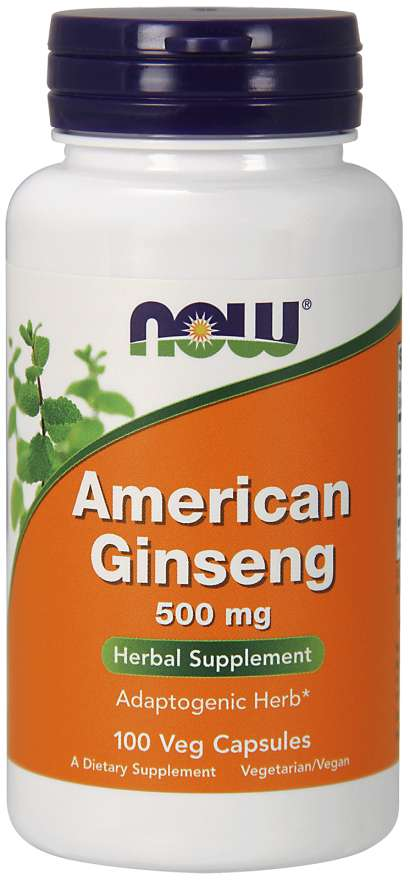 Now American Ginseng 500 mg