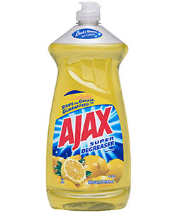 Ajax Dish Liquid Lemon 28oz