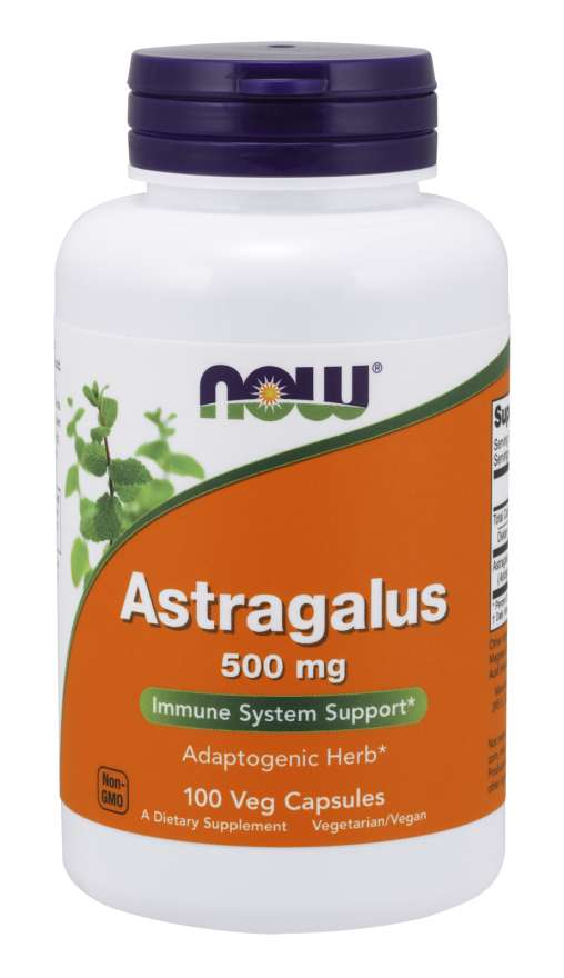Now Astragalus 500mg
