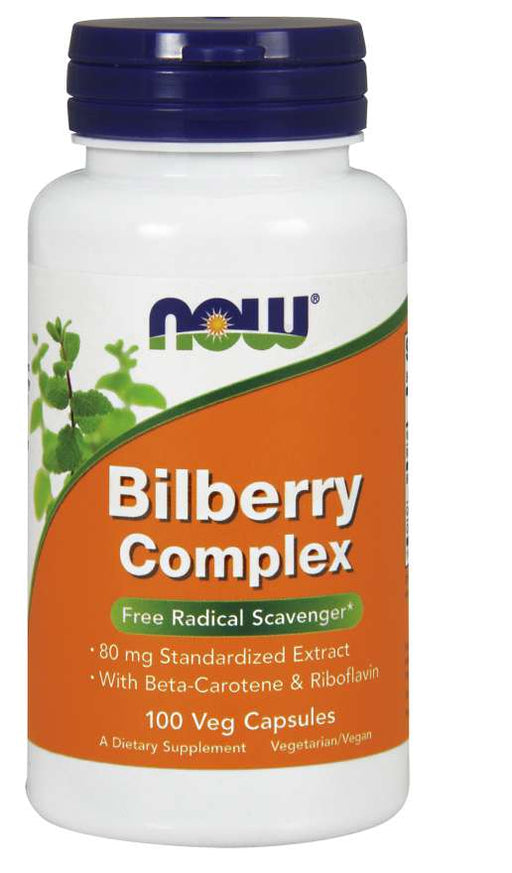 Now Bilberry Comp 80mg