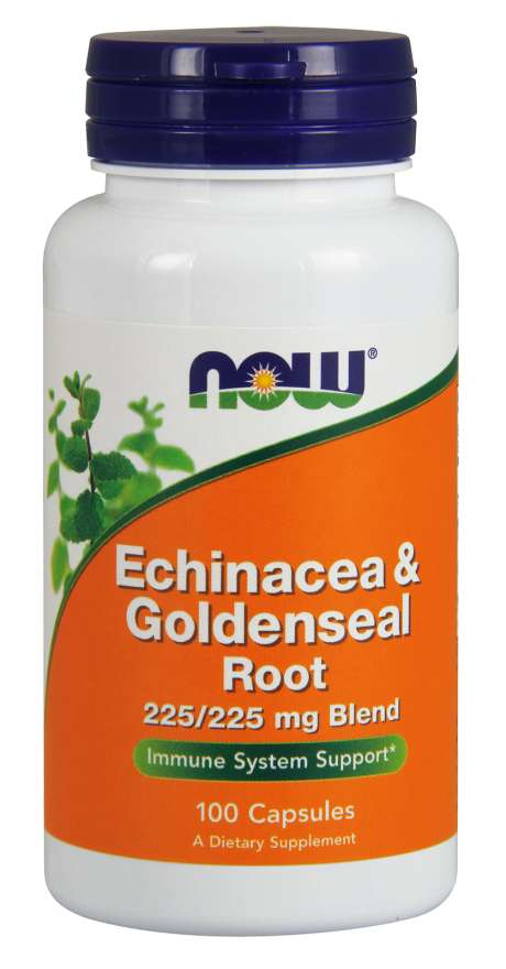 Now Chinacea Goldenseal Root 225/225mg