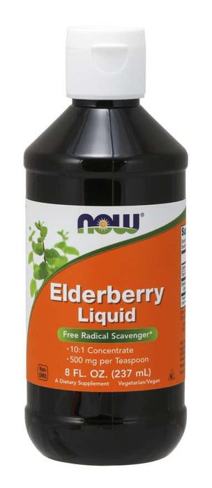Now Elderberry Liquid Concentrate
