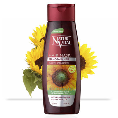 Naturvital-Coloursafe Mahogany Hair Mask